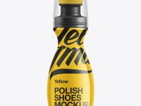 Shoe Polish Bottle Mockup