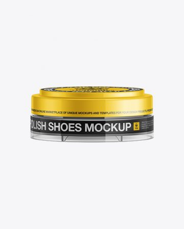 Shoe Cream Jar Mockup