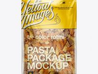 Tri-Color Rotini Package Mockup