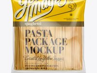 Big Spaghetti Bag Mockup