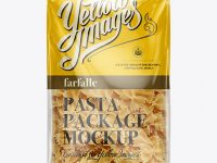 Farfalle Package Mockup