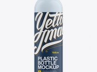 Plastic Cleaner Bottle Mockup
