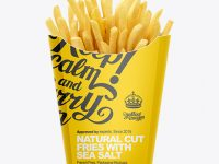 Paper French Fries Box - Large size