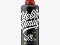 100ml Glass Bottle Mockup
