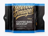 Coffee Bag Mockup - Front View