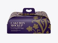 Cake Box - Front View