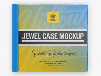 Jewel Case Mockup - Front View