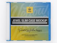 Jewel Slim Case Mockup - Front View