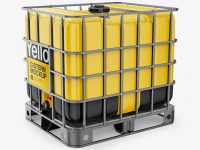 Intermediate Bulk Container (IBC) - Front 3/4 View