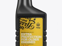 443ml Super Engine Treatment Bottle Mockup
