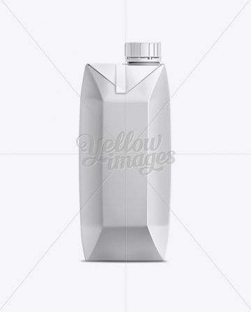 500ml Juice Carton Package with Screw Cap Mockup