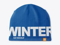 Winter Hat Mockup