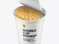 Cooked Noodle Cup Mockup