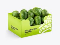 Box With Avocado