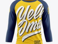 Men's Raglan T-Shirt 3/4 Sleeves