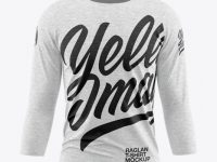 Melange Men's Raglan T-Shirt 3/4 Sleeves