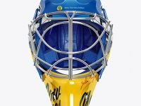 Hockey Goalkeeper Helmet Mookup