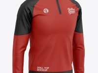 Men's Training Top - Front Half-Side View