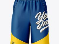 Compression Shorts Mockup – Front View