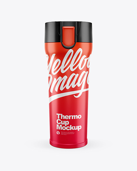 Thermo Cup Mockup