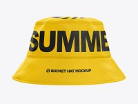 Bucket Hat Mockup - Front View