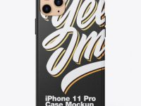 IPhone 11 Pro Lether Case Mockup