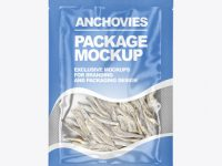 Bag With Anchovies Mockup