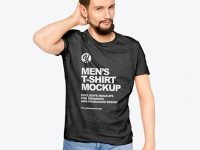 Man in a T-Shirt Mockup