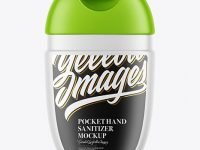 Matte Pocket Hand Sanitizer Mockup