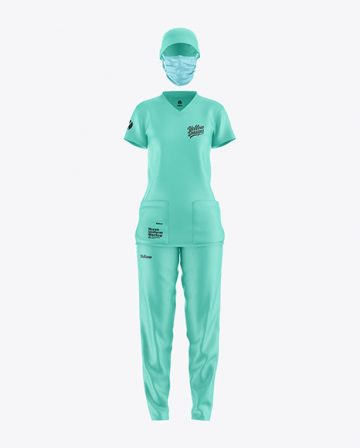 Nurse Uniform Mockup