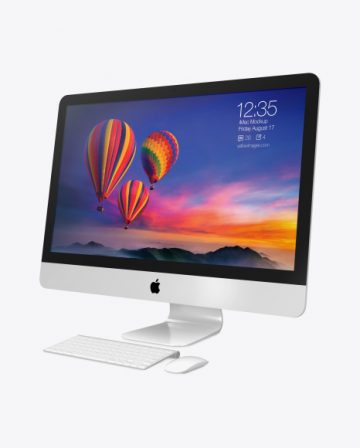 iMac Pro Mockup - Right Side View