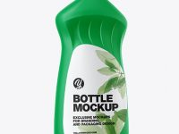 Washing-up Liquid Matte Bottle Mockup
