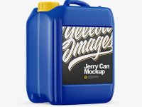 5L Plastic Jerry Can Mockup