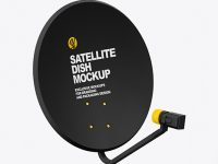Satellite Dish Mockup
