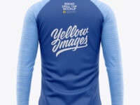 Men's Squad Drill Soccer Top - Back View