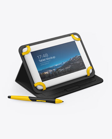 Graphics Tablet Mockup