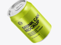 330ml Alluminium Drink Can Mockup