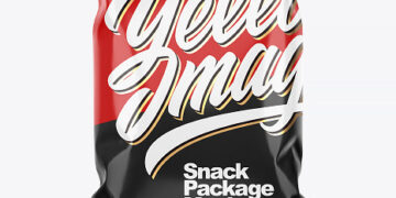 Snack Package Mockup