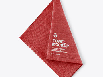 Kitchen Towel Mockup