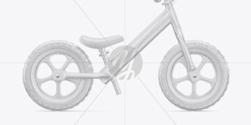 Balance Bike Mockup - Right Side