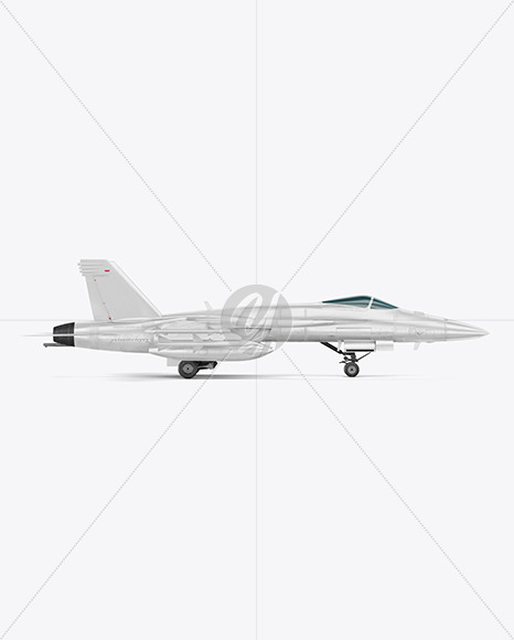 Combat Fighter - Side View