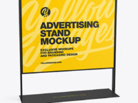 Advertising Stand Mockup