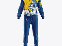 Men's Sport Suit Mockup - Front View