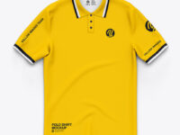 Classic Short Sleeve Polo Shirt - Top View