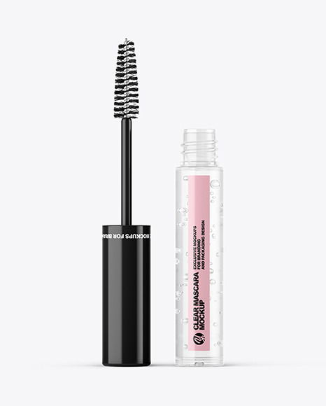 Download Opened Clear Mascara Tube Mockup | Exclusive Mockups
