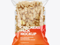Crackers Pack Mockup