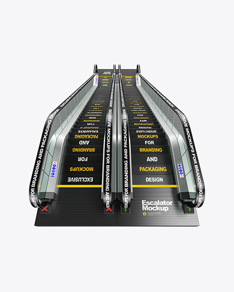 Double Escalator Mockup