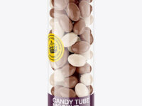 Transparent Candy Tube Mockup