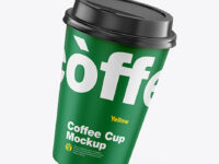 Paper Coffee Cup Mockup