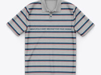Heather Short Sleeve Polo Shirt - Top View